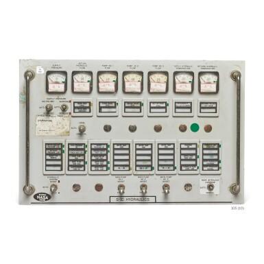 View 8. Thumbnail of Lot 105. [APOLLO PROGRAM]. SATURN V & SATURN IB/ APOLLO FIRING ROOM CONTROL PANELS.