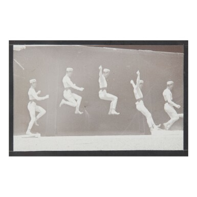 ETIENNE-JULES MAREY | STUDY OF A MAN JUMPING