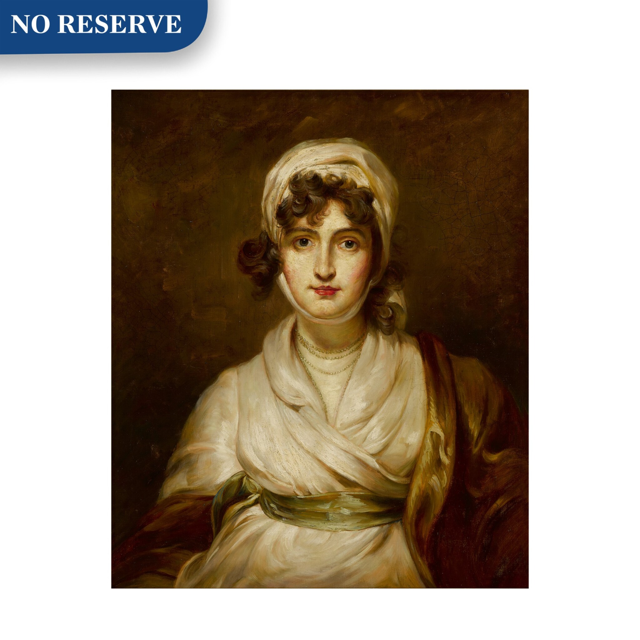 View full screen - View 1 of Lot 114. Portrait of Sarah Siddons (1755 - 1831), bust-length.
