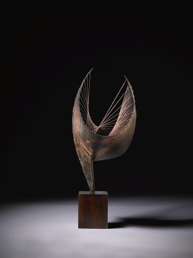 View 3. Thumbnail of Lot 9. DAME BARBARA HEPWORTH  |  ORPHEUS (MAQUETTE I).