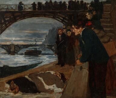 View 1. Thumbnail of Lot 22. Le noyé du Pont des Arts.