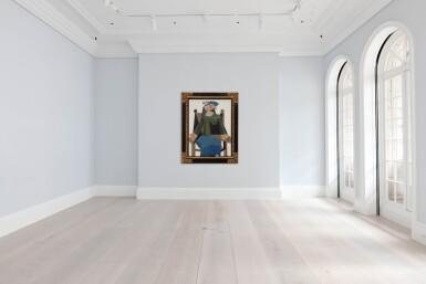 View 5. Thumbnail of Lot 120. Femme assise dans un fauteuil |《扶手椅上的女子坐像》.