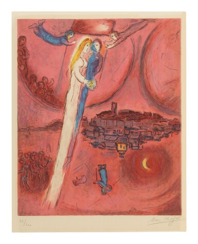 MARC CHAGALL | THE SONG OF SONGS (M. CS 47)