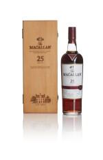 The Macallan 25 Year Old Sherry Oak Series Purple Ribbon 43.0 abv NV