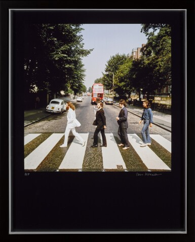 View 2. Thumbnail of Lot 56. IAIN MACMILLAN   The Beatles, Abbey Road Out-take, 1969, chromogenic print, signed and numbered AP .