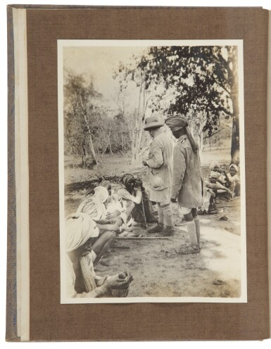 View 2. Thumbnail of Lot 18. [INDIA] — JOHN CLOUGH | An archive of manuscript, typescript, and photographic material, related to John Clough's hunting expeditions in India. Ca. 1927-1935 .