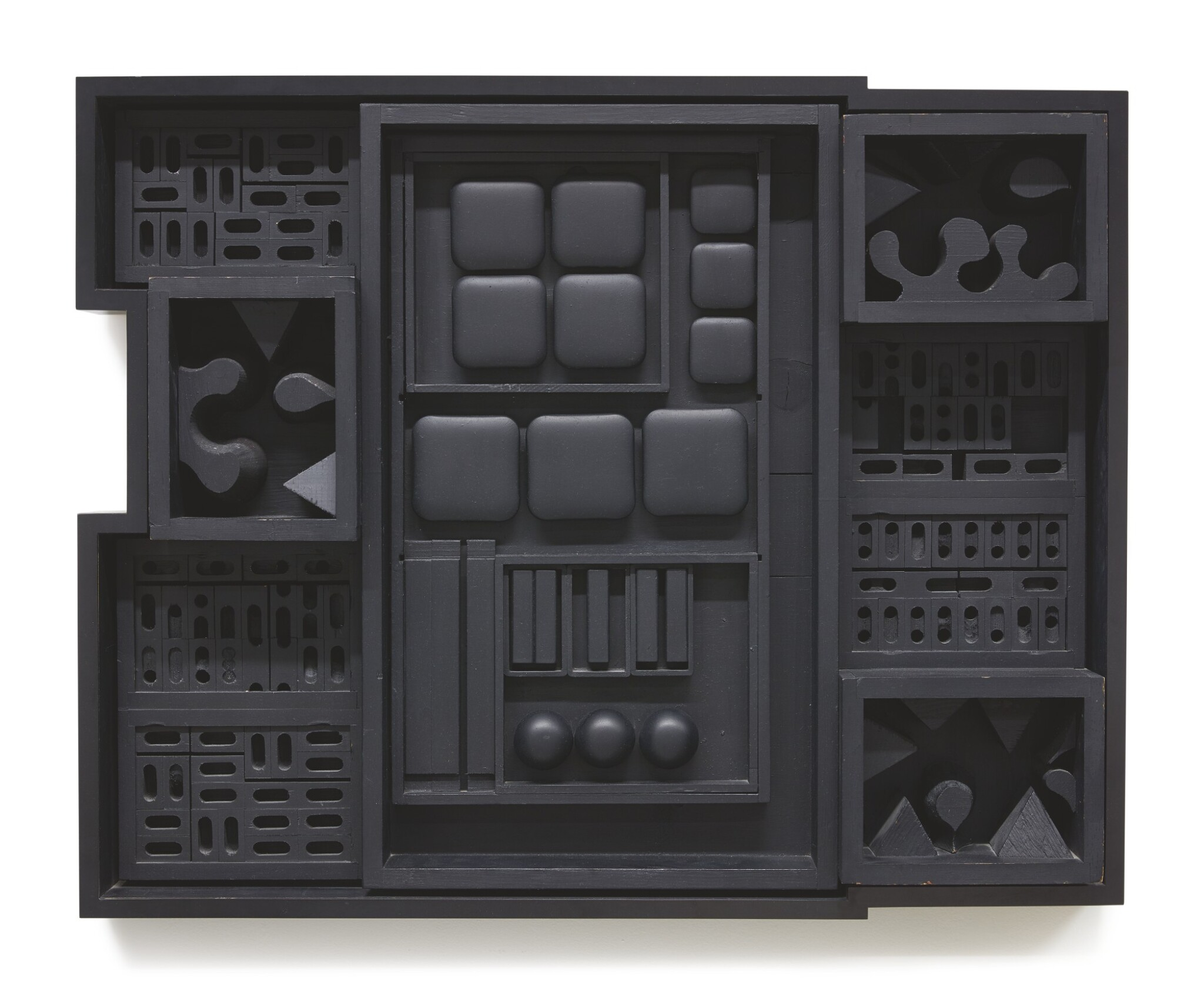 View 1 of Lot 405. LOUISE NEVELSON | NIGHT ZAG IV.