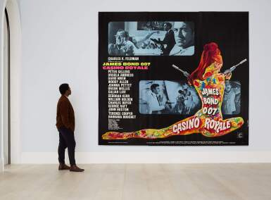 View 2. Thumbnail of Lot 80. CASINO ROYALE (1967) POSTER, FRENCH  .