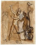 CRISTOFANO ALLORI | ALEXANDER THE GREAT CUTTING THE GORDIAN KNOT