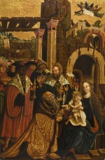 DANUBE SCHOOL, CIRCA 1510-20 | The Adoration of The Magi