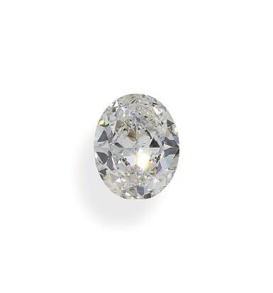 A 2.45 Carat Oval-Shaped Diamond, I Color, VS2 Clarity