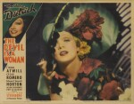 The Devil is a Woman (1935) lobby card, US