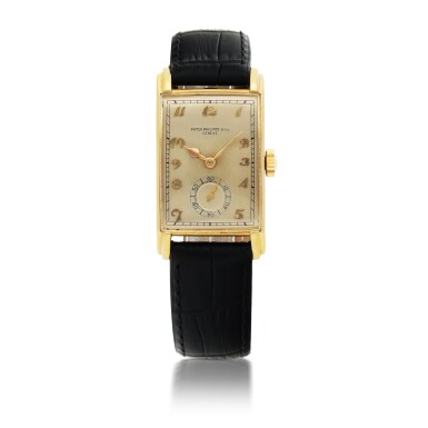 PATEK PHILIPPE | REF 1559 YELLOW GOLD WRISTWATCH MADE IN 1944