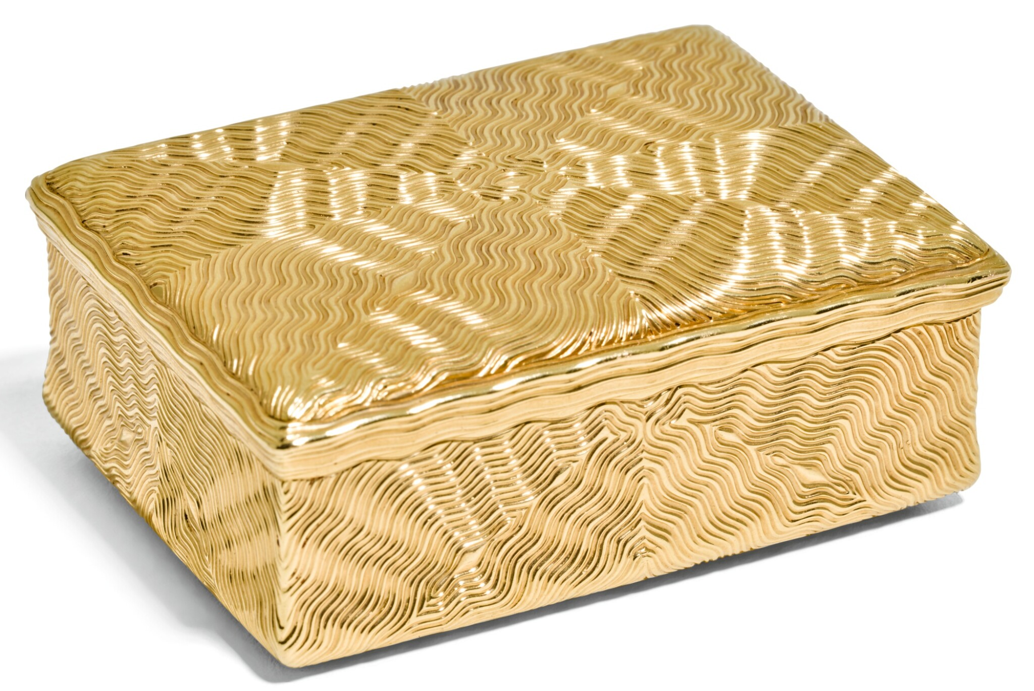 View 1 of Lot 69. A GOLD ROYAL PRESENTATION SNUFF BOX, JEAN DUCROLLAY, PARIS, 1739.