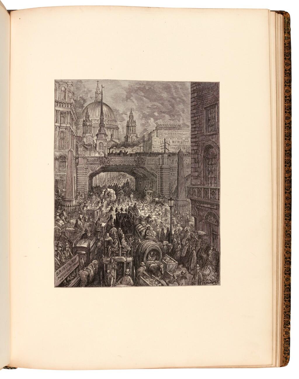 DORÉ, GUSTAVE AND BLANCHARD JERROLD | LONDON, A PILGRIMAGE. LONDON: GRANT & CO., 1872