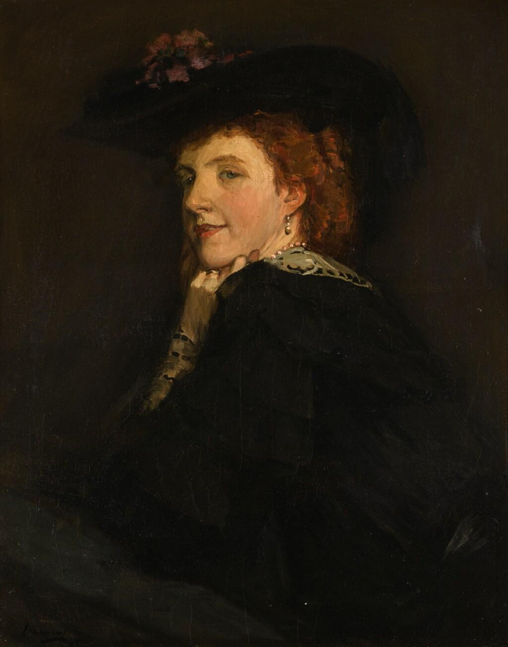SIR JOHN LAVERY, R.A., R.S.A., R.H.A. | MRS GEOFFREY BIRKBECK
