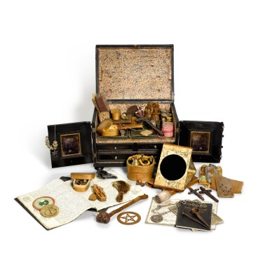 View 2. Thumbnail of Lot 170. An extraordinary assemblage of objects pertaining to the occult and witchcraft, 17th to 20th century.