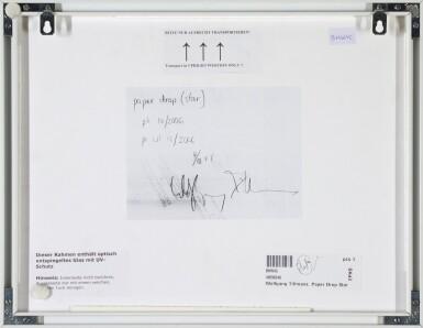 View 3. Thumbnail of Lot 43. WOLFGANG TILLMANS   'PAPER DROP', (STAR), 2006.