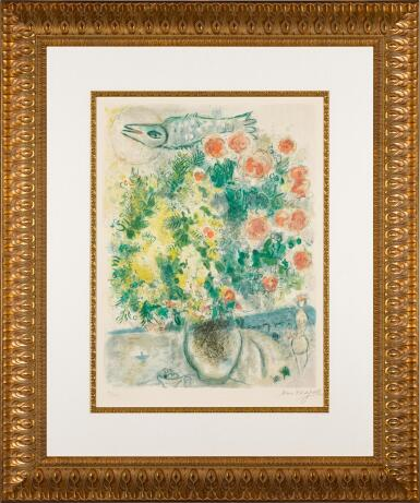 View 2. Thumbnail of Lot 14. AFTER MARC CHAGALL | ROSES ET MIMOSAS (M. CS. 29).