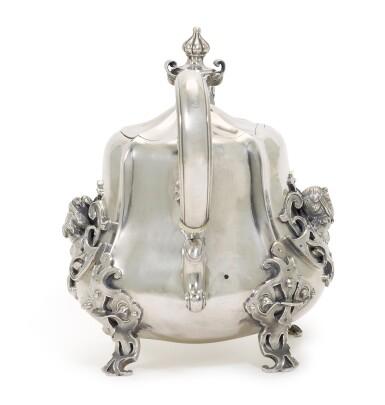 View 3. Thumbnail of Lot 217. A silver teapot, Sazikov, Moscow, circa 1850.