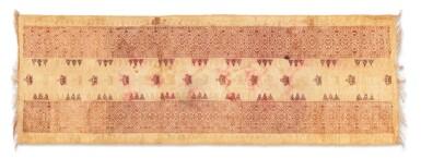 View 5. Thumbnail of Lot 6. Un textile cérémoniel pua et trois nattes, Indonésie | A ceremonial cloth pua and three mats, Indonesia.