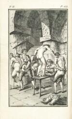 SADE. La Nouvelle Justine. Rarissime en rel. érotique.Véritables éditions originales publiées à Paris en 1799 et en 1801