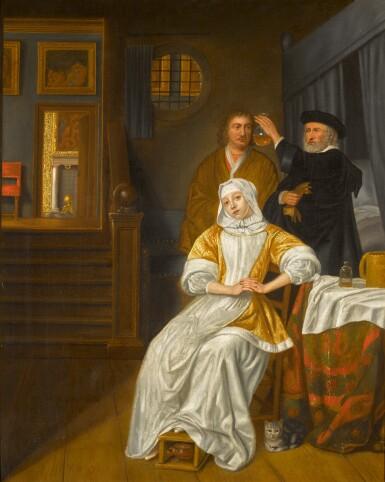 STUDIO OF SAMUEL VAN HOOGSTRATEN | THE ANAEMIC LADY
