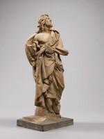 ATTRIBUTED TO CAMILLO RUSCONI (1658-1728), ITALIAN, ROME, CIRCA 1700 | SAINT JAMES THE GREATER