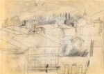 BEN NICHOLSON | FULL MOON, LUCCA, SEPT 1956