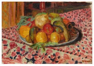 View 1. Thumbnail of Lot 1009. Assiette de fruits.