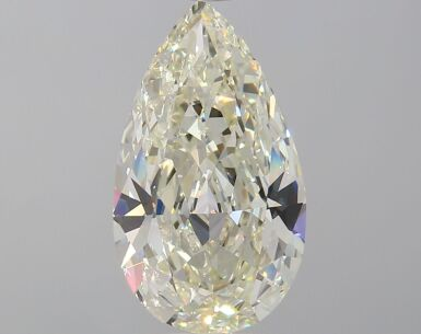 A 3.05 Carat Pear-Shaped Diamond, N Color, SI1 Clarity