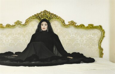 YOUSSEF NABIL   MY BED, FIFI ABDOU, CAIRO, 2000