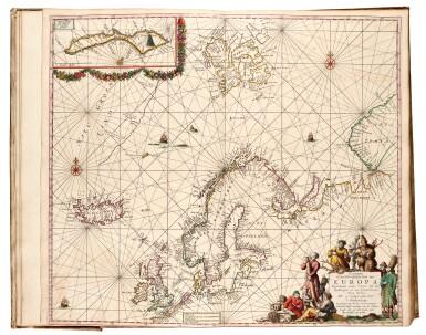 View 6. Thumbnail of Lot 296. Keulen. De Groote Nieuwe Vermeerderde Zee-Atlas ofte Water-Werelt. 1685, fine hand-colouring.