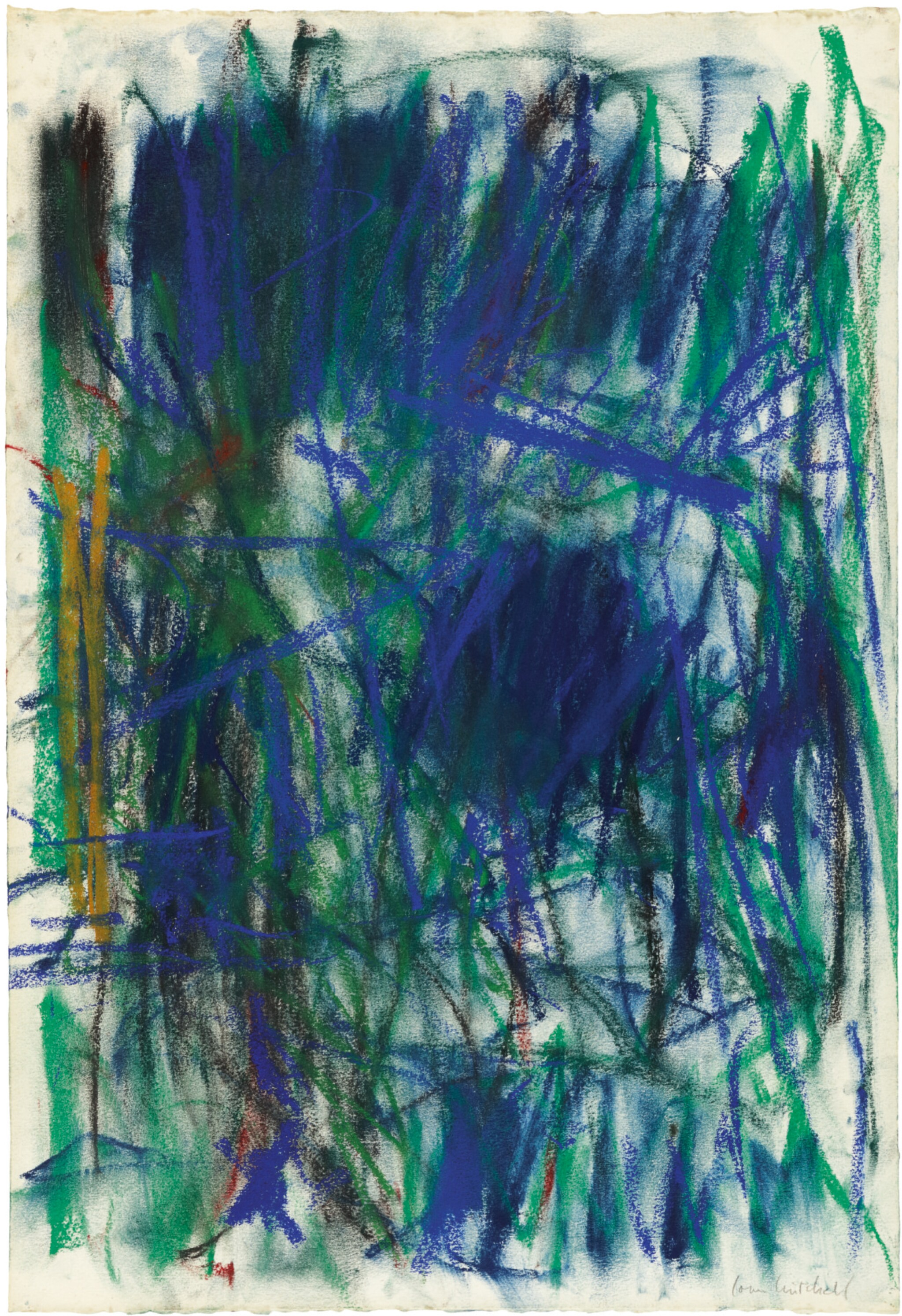 View full screen - View 1 of Lot 10. JOAN MITCHELL |  UNTITLED.
