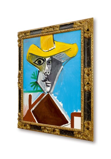 View 4. Thumbnail of Lot 12.  Pablo Picasso 巴布羅・畢加索 | Buste d'homme 男子半身像.