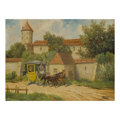 GERMAN SCHOOL | A JAUNT IN THE CARRIAGE