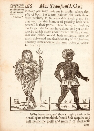 Bulwer | A view of the people of the whole world, 1654