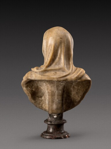 View 4. Thumbnail of Lot 158. Italian, 18th century | Bust of a Vestal Virgin.