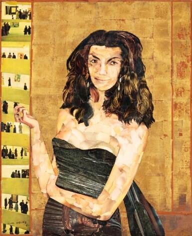 View 1. Thumbnail of Lot 42. Portrait d'Iris Clert.