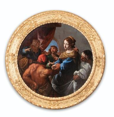 View 7. Thumbnail of Lot 34. The Judgement of Solomon; Daniel defending Susanna.