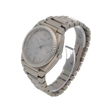 View 2. Thumbnail of Lot 427. 'The Texan' Quartz, Ref. 5100 BETA 21 White gold wristwatch with date and bracelet Circa 1970 | 勞力士 5100 BETA 21型號「'The Texan' Quartz」白金鍊帶腕錶備日期顯示,年份約1970.