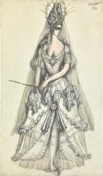 Costume Design for the Lilac Fairy in La Belle au Bois Dormant