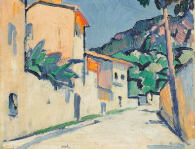 View 1. Thumbnail of Lot 3. Street in Cassis.