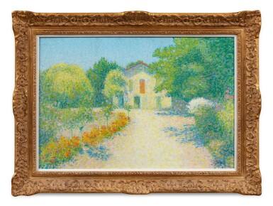 View 2. Thumbnail of Lot 40. ACHILLE LAUGÉ | L'ALOUETTE, MAISON DE L'ARTISTE À CAILHAU.