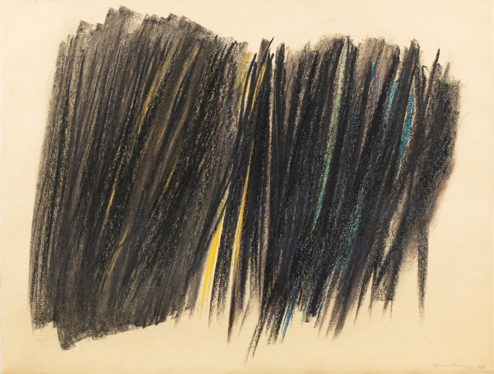 View full screen - View 1 of Lot 10. HANS HARTUNG | P1960-47.