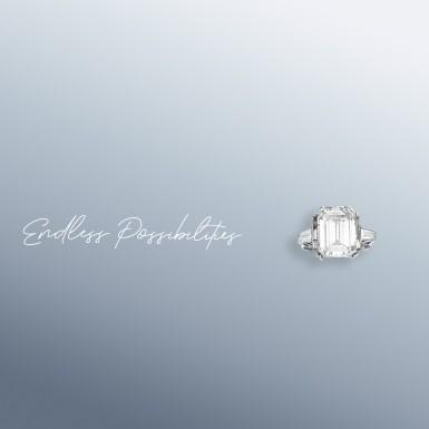 View 2. Thumbnail of Lot 18. A 1.12 Carat Emerald-Cut Diamond, D Color, SI1 Clarity.