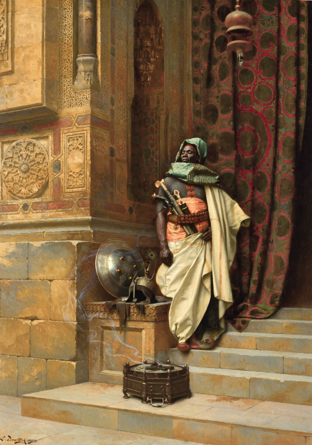 LUDWIG DEUTSCH | THE PALACE GUARD