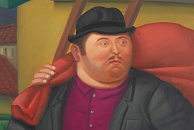 View 2. Thumbnail of Lot 571. Fernando Botero 費南度・波特羅 | Untitled 無題.
