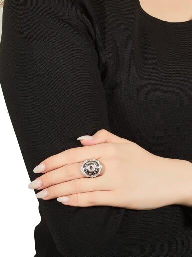View 5. Thumbnail of Lot 1783. Three Gold and Diamond Rings | 寶格麗 | K金 配 鑽石 戒指三枚.