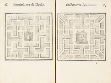 View 4. Thumbnail of Lot 62. Le Thresor des parterres de l'univers. Genève, 1629. In-4. Reliure de Bruyère. Seule et unique édition..